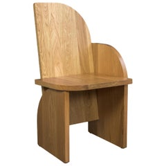 Bluff Side Chair from Souda, Customizable, Oak, Left, Floor Model