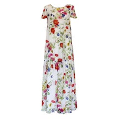 Blumarine Floral Dress IT44