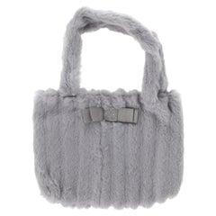 Blumarine Women  Handbags Grey Leather