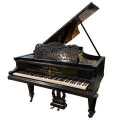 Blüthner Germany Romantic Grand Piano Ebonized French Polish