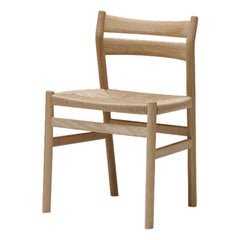 BM1 Chair by Borge Mogensen, Light Oak