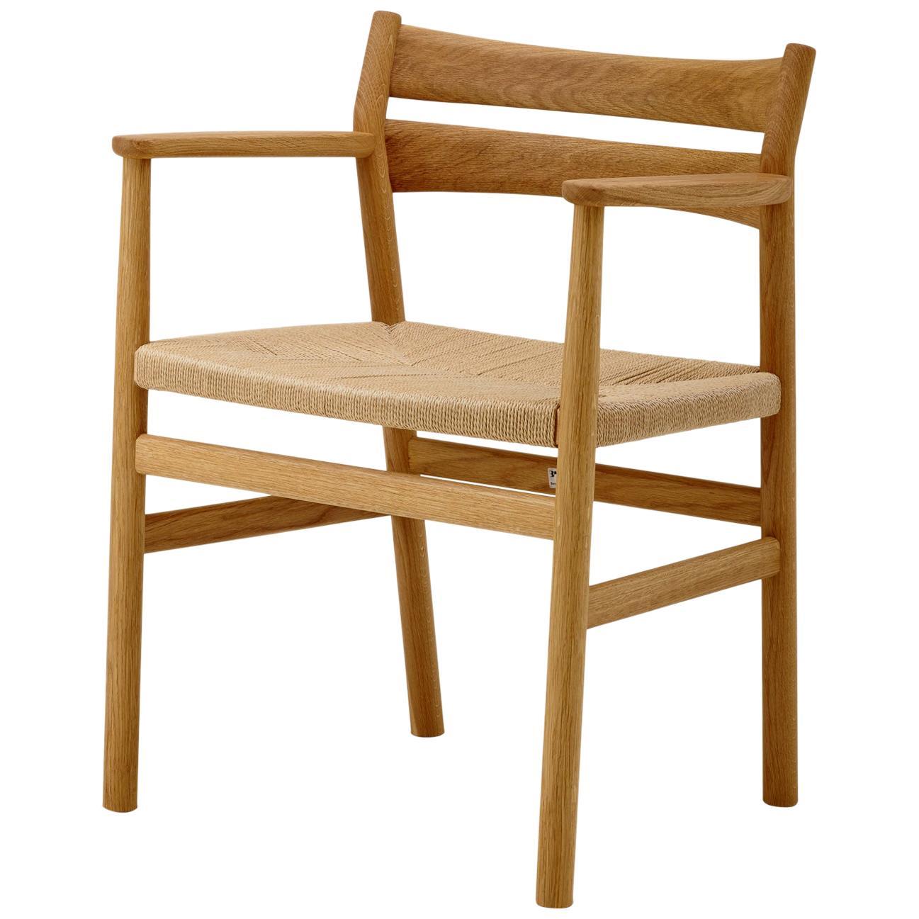 BM2 Chair by Borge Mogensen, Light Oak