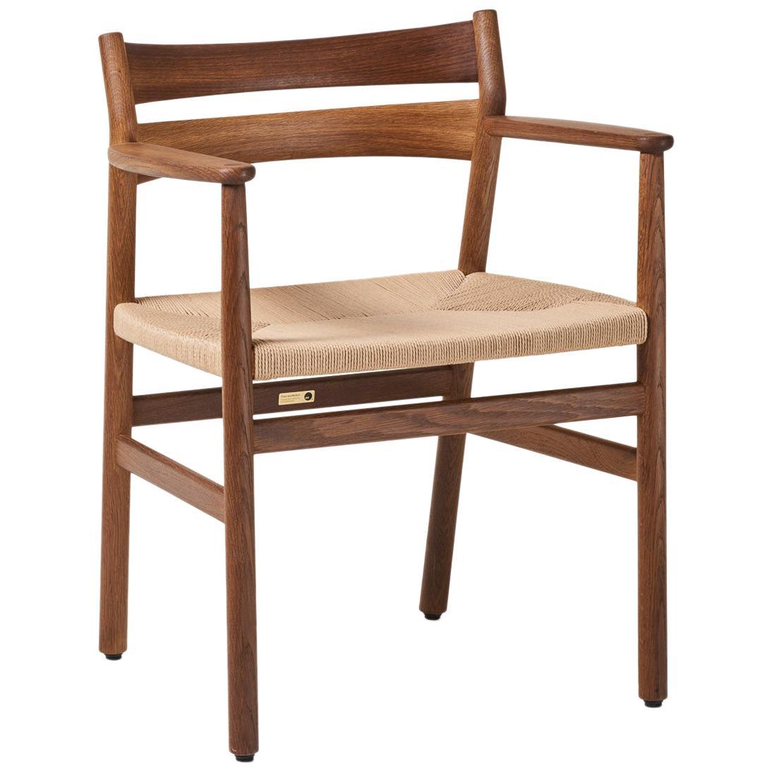 BM2 Chair by Borge Mogensen - Smoked Oak