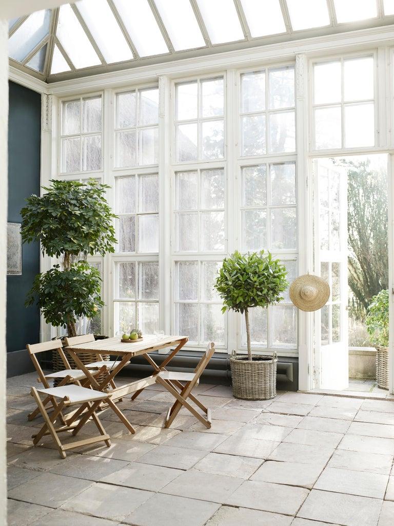 BM4570 Outdoor Dining Chair in Teak by Børge Mogensen For Sale 4