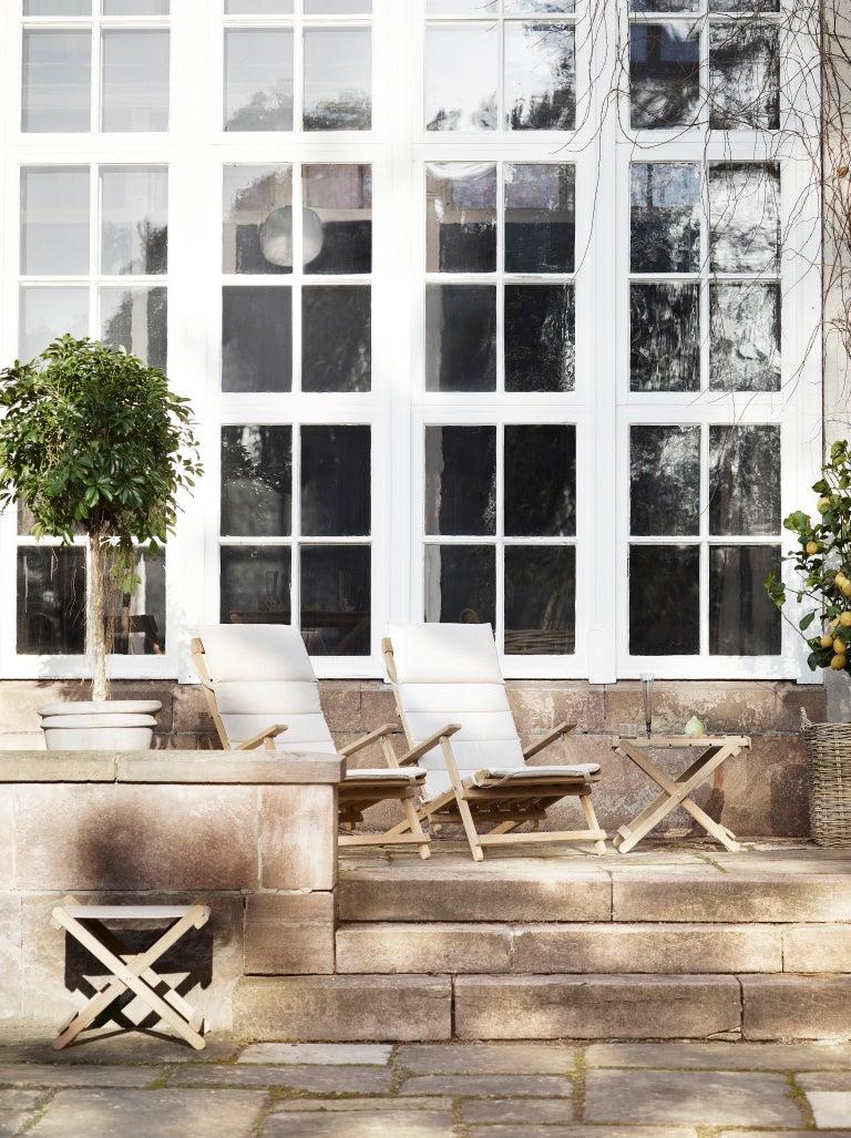BM4570 Outdoor Dining Chair in Teak by Børge Mogensen For Sale 7