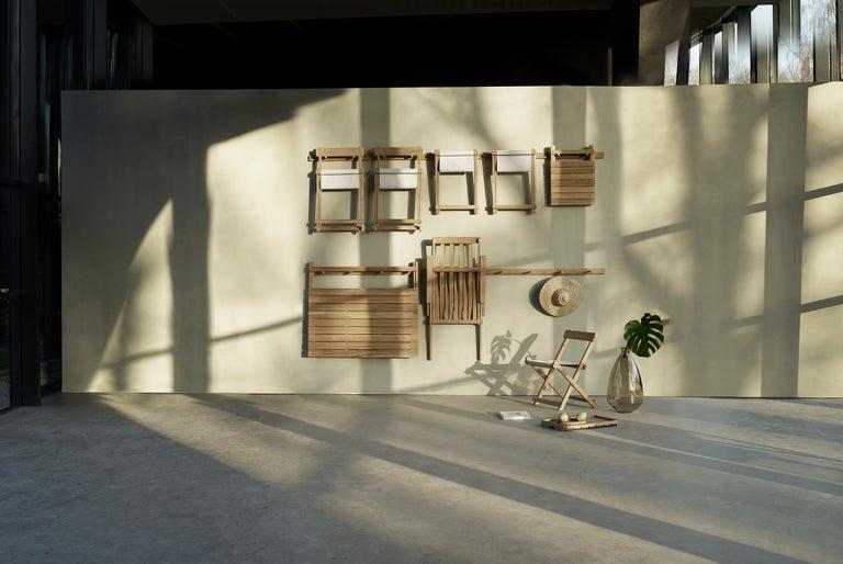 BM4570 Outdoor Dining Chair in Teak by Børge Mogensen For Sale 10