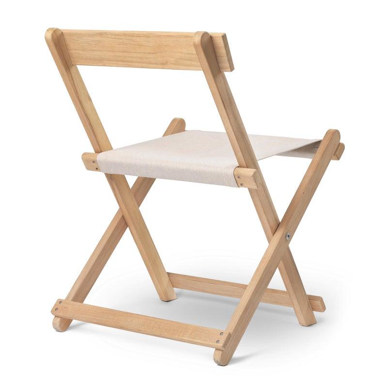 Modern BM4570 Outdoor Dining Chair in Teak by Børge Mogensen For Sale