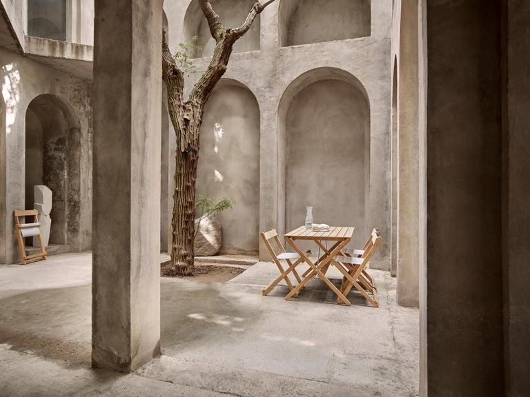 BM4570 Outdoor Dining Chair in Teak by Børge Mogensen For Sale 1