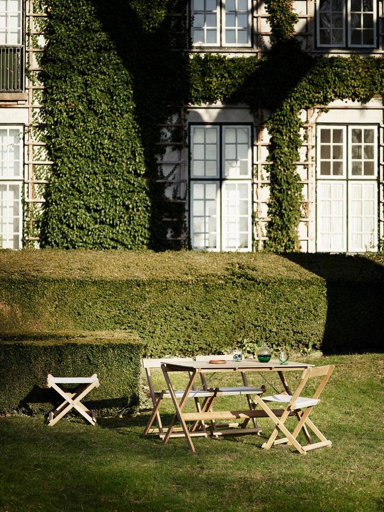 BM4570 Outdoor Dining Chair in Teak by Børge Mogensen For Sale 3