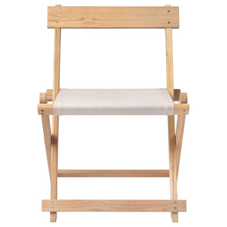 BM4570 Outdoor Dining Chair in Teak by Børge Mogensen For Sale