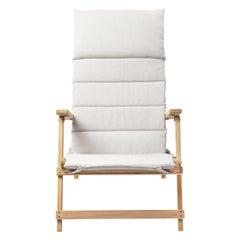 BM5568 Deck Chair with Cushion by Børge Mogensen