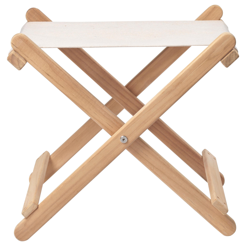 BM5768 Outdoor Footstool in Teak by Børge Mogensen