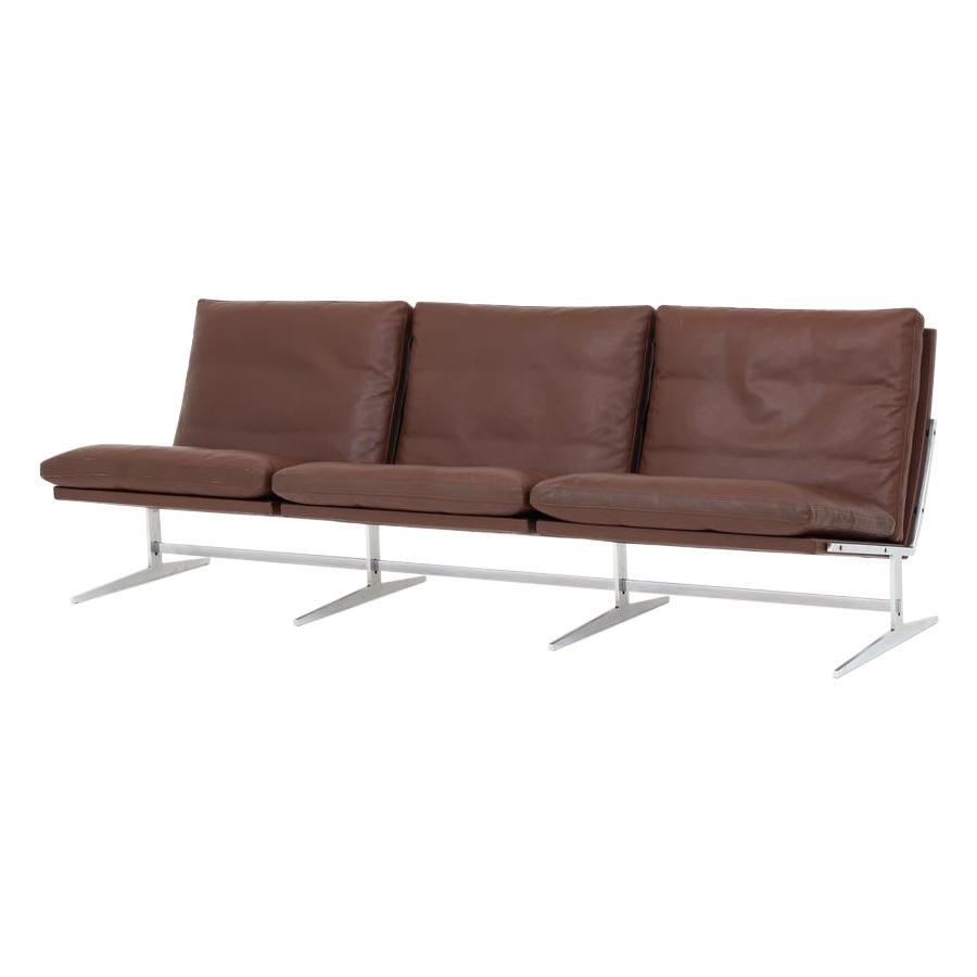 BO 563 Three Seat Sofa by Preben Fabricius & Jørgen Kastholm