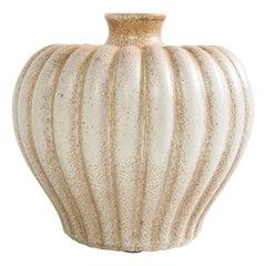 Bo Fajans Pottery Vase Designed by Evald Dahlskog