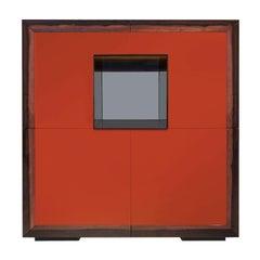 Bob 6 Red Bar Cabinet