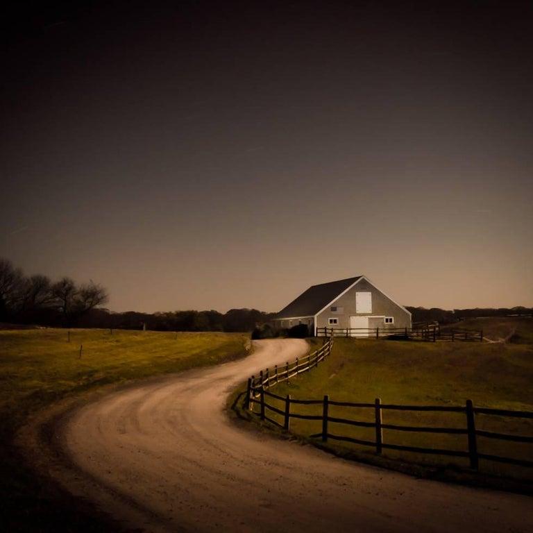 Bob Avakian Color Photograph - The Barn