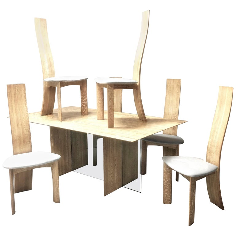 Bobs Dining Room Sets: Bob And Dries Van Den Bergh Bleached Cerrused Oak Dining