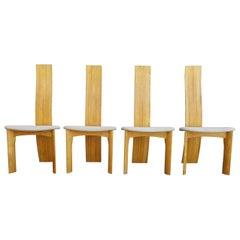 Bob & Dries Van Der Berghe Sculptural Dining Chairs