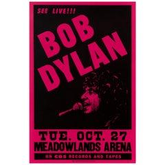 Bob Dylan Original Vintage Concert Poster, American, 1981
