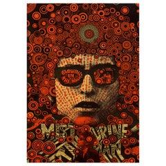 Bob Dylan Original Vintage Poster by Martin Sharp, British, 1967