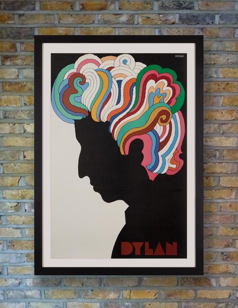 American Bob Dylan Original Vintage Poster by Milton Glaser, 1967 For Sale