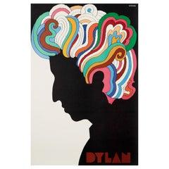 Bob Dylan Original Vintage Poster by Milton Glaser, 1967