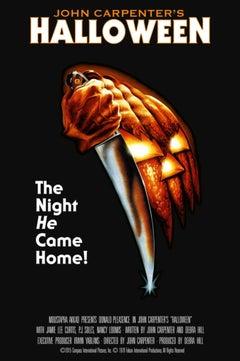 Bob Gleason - Halloween 40th Anniversary Ed. - Contemporary Cinema Movie Poster