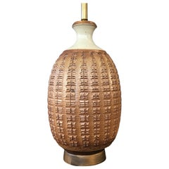 Bob Kinzie for Affiliated Craftsmen Z Series Stoneware Table Lamp, 1960s