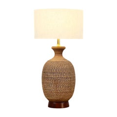 "Bob Kinzie ""Z-Series"" Ceramic Table Lamp for Affiliated Craftsmen"