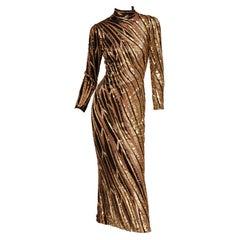 Bob Mackie Beaded Gown