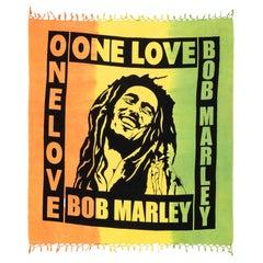 """Bob Marley"" Textile Sud American Stamped, XXI Century"