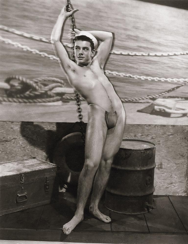 Bob Mizer Portrait Photograph - Rem Brandt