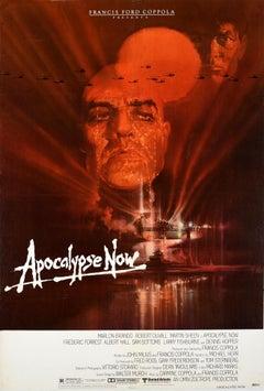 Original Vintage Movie Poster Apocalypse Now Vietnam War Sheen Brando Coppola US