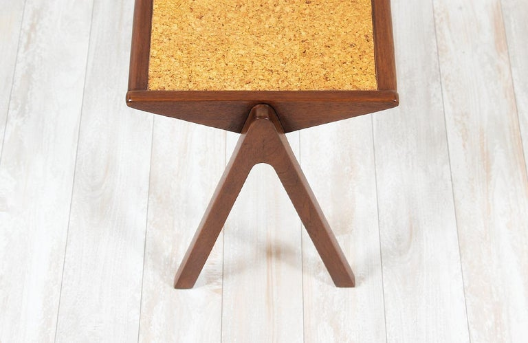 Bob Roukema Cork Top Nesting Tables for Jon Jansen For Sale 2