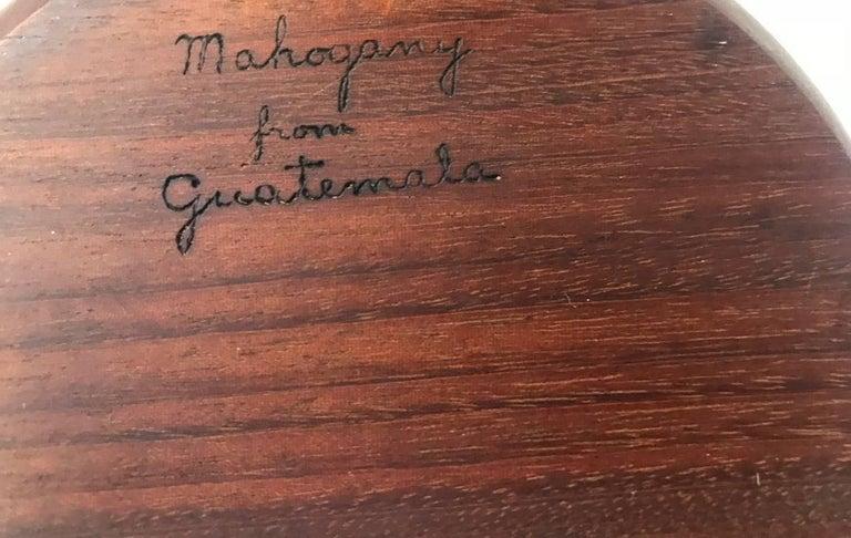 Mahogany Bob Stocksdale Set of Six Wood Turned Bowls For Sale