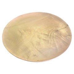 Bob Stocksdale Signed Monumental Mid-Century Modern Turned Exotic Wood Charger