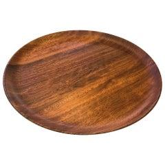 Bob Stocksdale Signed Turned Wood Mid-Century Modern Art Plate Platter