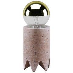 Bob Table Lamp, Pink Granite Terrazzo