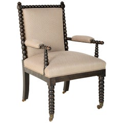 Bobbin Turned Armchair From an English Manor