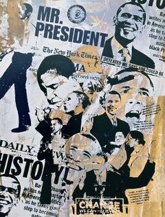 Mr. President (Barack Obama), 2009 Lithograph, Bobby Hill