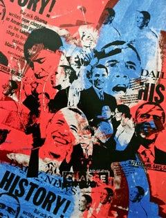 Mr. President (Barack Obama), 2009 Offset Lithograph, Bobby Hill