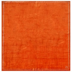 "Boccara Exclusive Limited Edition Artistic Wool Rug, ""Sunset"" Orange"
