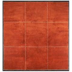Boccara Hand Knotted Artistic Rug Design N.77 Orange