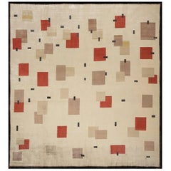 Boccara Hand Knotted Limited Edition Artistic Rug Design N.11 Silk