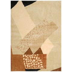 Boccara Hand Knotted Limited Edition Artistic Rug, Design N.15