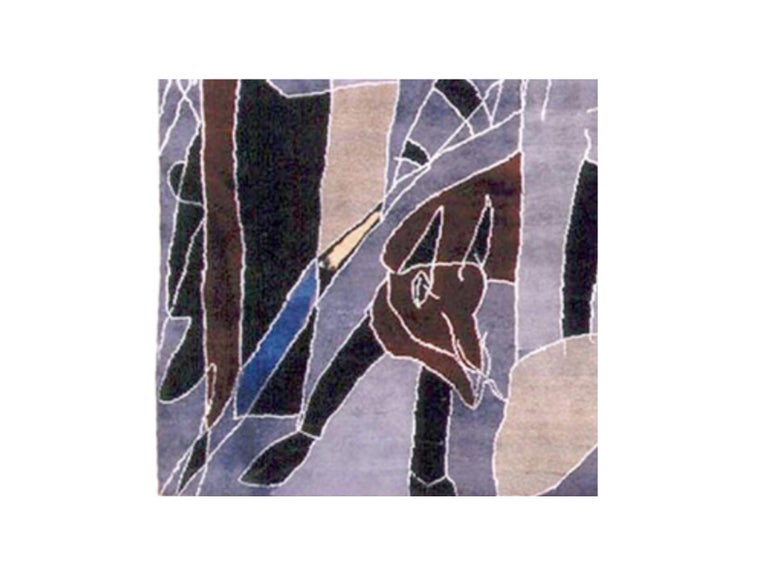 Boccara Limited Edition Artistic Hand Knotted Rug After Antonio Seguí - N.20 In New Condition For Sale In New York, NY