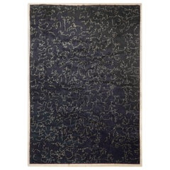 Boccara Limited Edition Artistic Wool Rug Surrealisme 'Black'