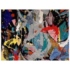 """Boccara Limited Edition Hand Knotted Artistic Rug, """"Street Art"""""""