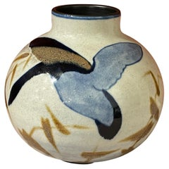 Boch Freres Charles Catteau Animal Stoneware Art Deco Goose Rare