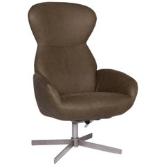BoConcept Athena Relax Leather Armchair Green